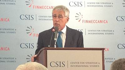 Pentagon chief Hagel tells world: US will continue to lead