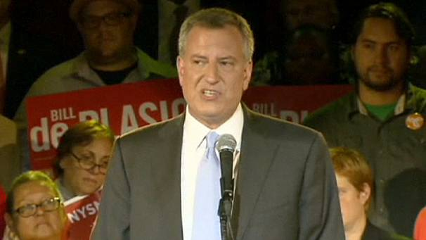 Profile of Bill de Blasio – New York's first Democrat mayor in two decades