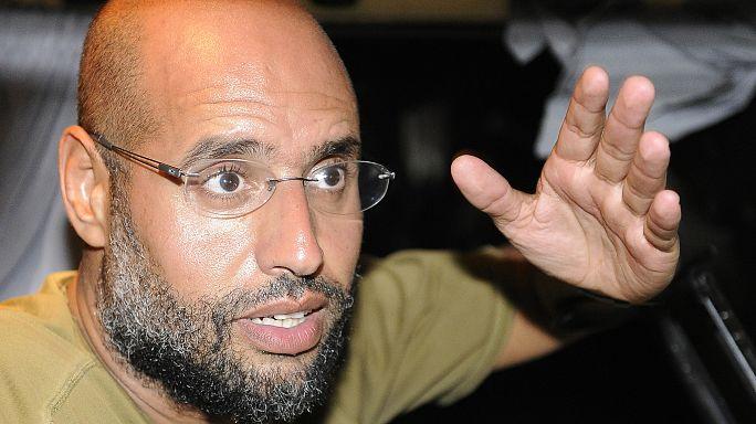 سيف الاسلام القذافي يظهر بشكل عابر على محطة تلفزيون ليبية