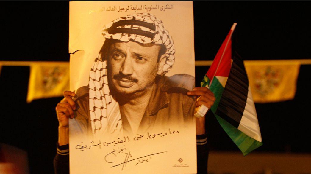 Arafat fue asesinado con polonio radiactivo según su viuda