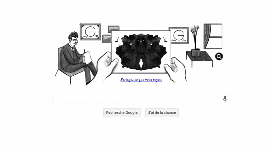 What do you see in Google's #RorschachDoodle?