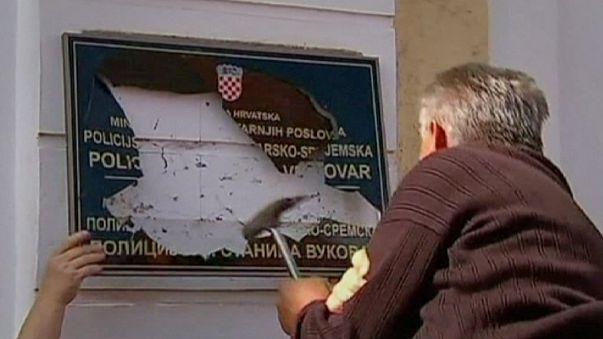Kiril Alfabesi Vukovar'ı ikiye böldü