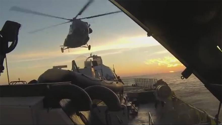 Greenpeace releases new footage of the Arctic Sunrise boarding by Russian forces