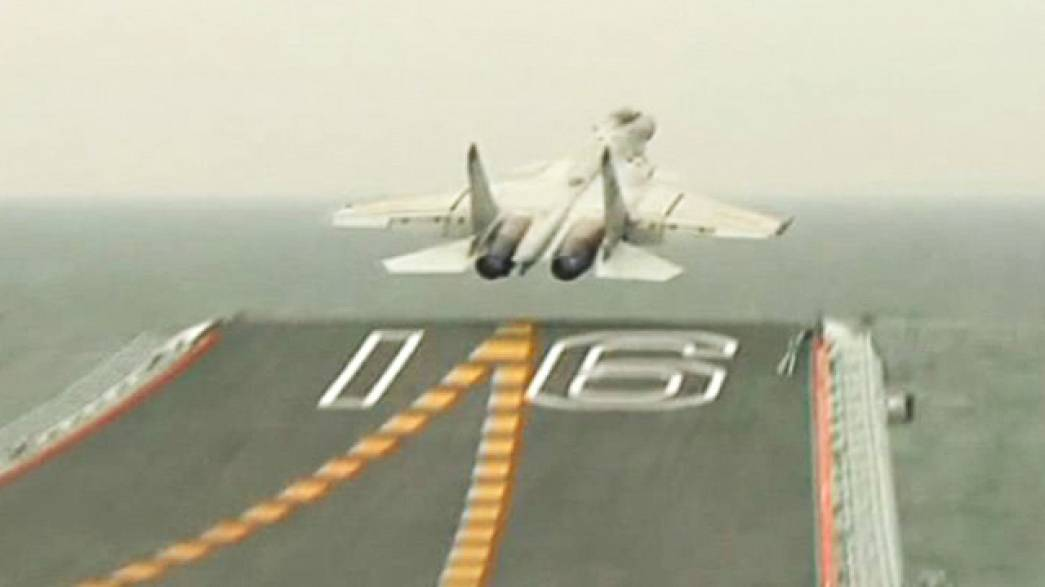 Shenyang J-15-555 Flying Shark Marine Fighter Präsentation