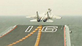 El ejército chino desvela el J15-555 fighter