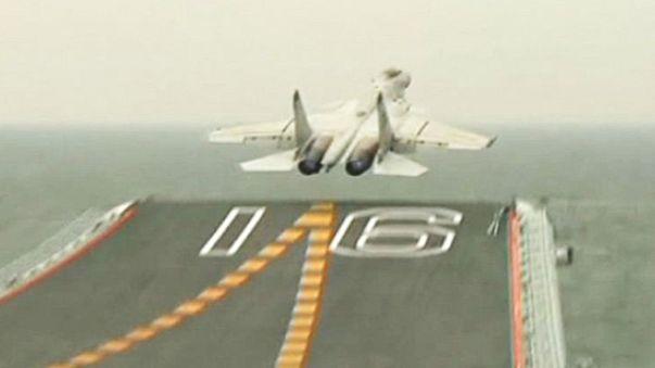 Shenyang J-15-555 Flying Shark Marine Fighter Präsentation