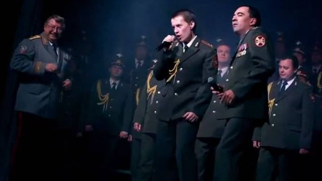Russian police choir hopes to Get Lucky with Western hits