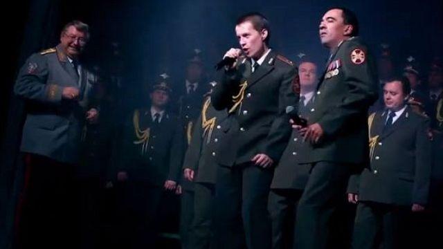 Российские полицейские поют о счастье и деньгах