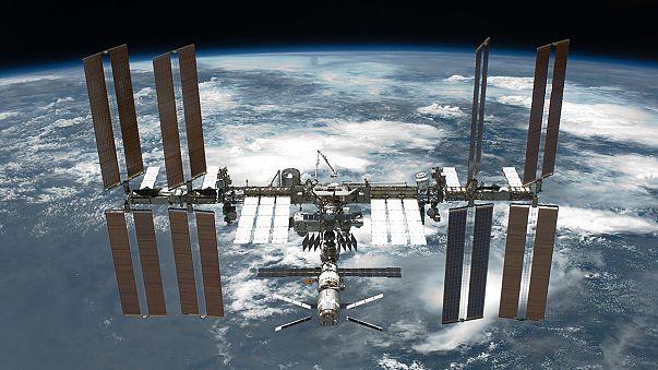 Visszatértek a Nemzetközi Űrállomás asztronautái a Földre- az olimpiai lánggal együtt