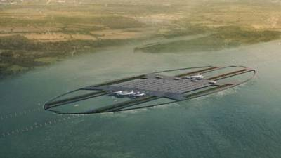 New £47.3 billion airport planned for London's Thames River