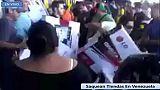 Tercera jornada de saqueos a comercios en Venezuela [videos]