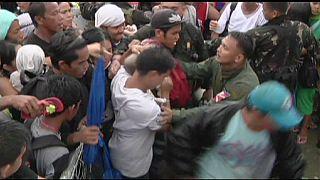 Fosztogatás és erőszak a Fülöp-szigeteken