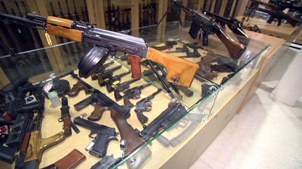 ¿Hasta dónde llega el mercado negro de armas de fuego en la UE?