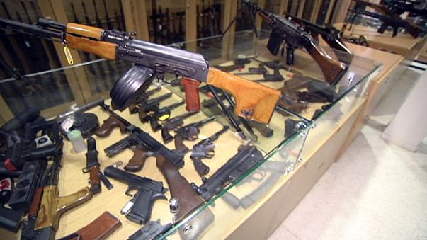 EU fires first salvo for stricter gun control
