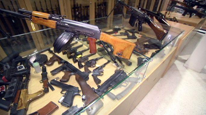 Европа хочет усилить контроль над оружием