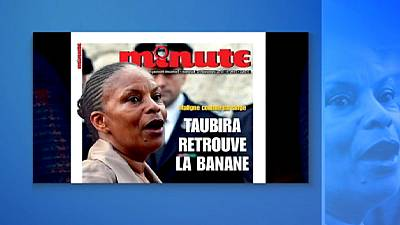 French front page accused of racist slur as government launches investigation