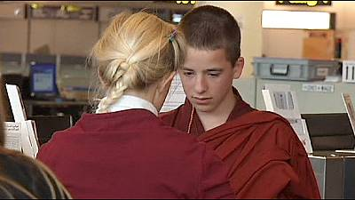 Belgian boy gets green light to become Tibetan monk