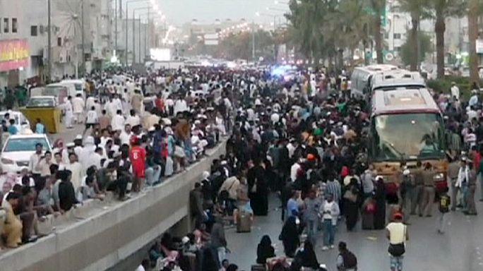 Bevándorló munkásokkal csapott össze a rendőrség Szaud-Arábiában