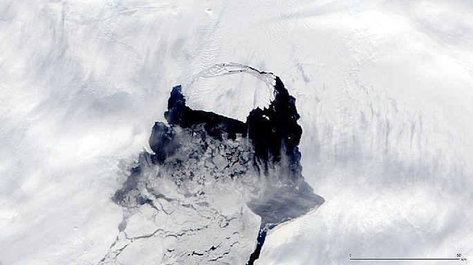 Alerte à l'iceberg géant dans l'hémisphère sud