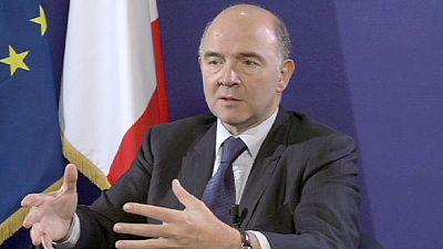 """Moscovici: """"É absolutamente necessário criar uma união bancária"""""""