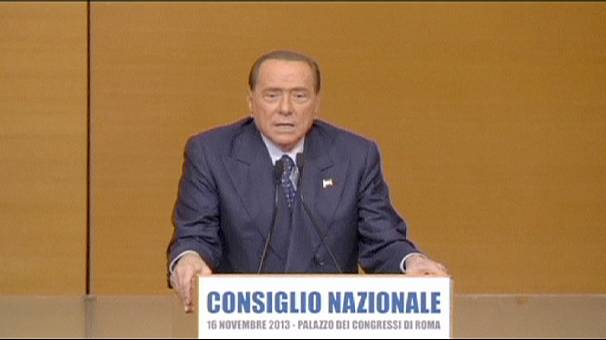 Silvio Berlusconi reforms Forza Italia as dozens in his party defect