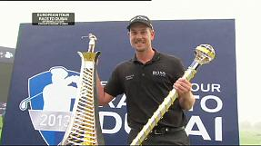 Stenson wins Race to Dubai