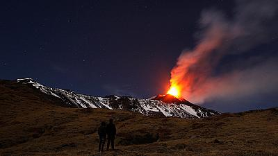 Italy's Mount Etna erupts for 16th time this year
