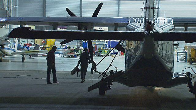 Mit dem Laser im Nachthimmel - Testflüge für eine bessere Aerodynamik