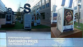 LIVE: Malala Yousafzai receives 2013 Sakharov Prize