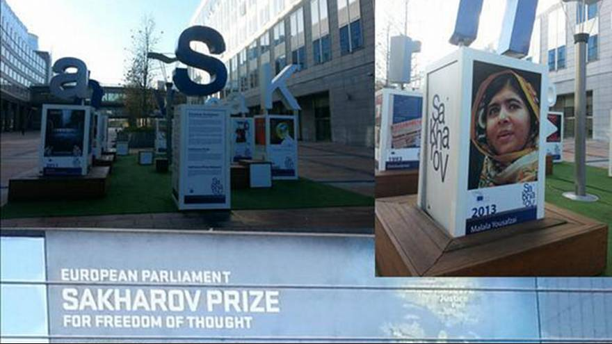 EN DIRECT : Malala Yousafzai reçoit le Prix Sakharov 2013 à Strasbourg
