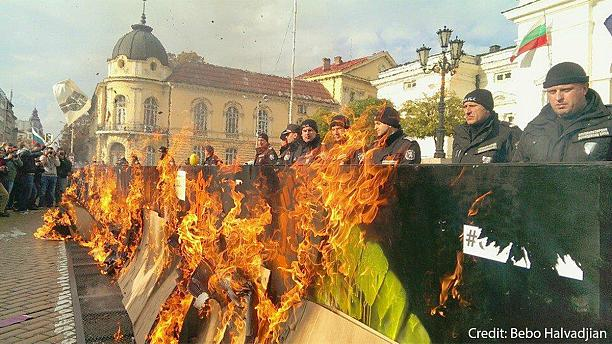 On 160th day of demonstration, Bulgaria's largest trade union joins student-led protests