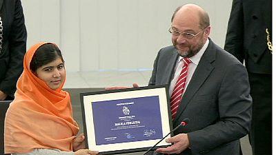 Malala Yousafzai receives EU Sakharov prize – nocomment
