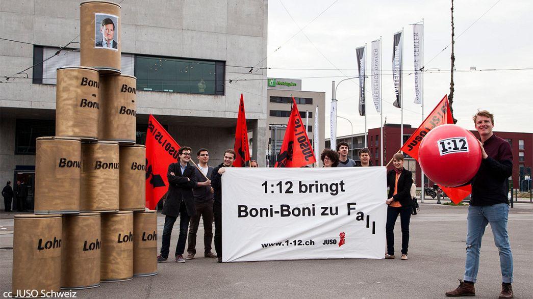 Suisse : L'initiative 1:12, référendum sur le plafonnement des salaires des patrons