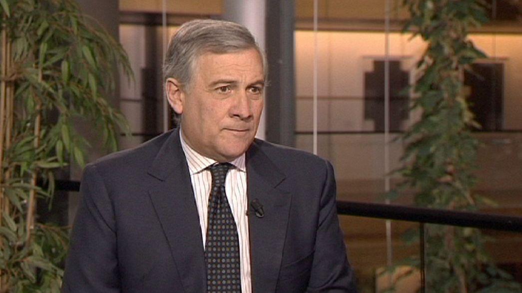 """Antonio Tajani: """"Hay que lograr una política económica basada en la economía real"""""""