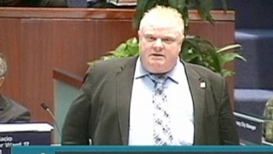 Toronto mayor Rob Ford more popular since crack cocaine admission - poll