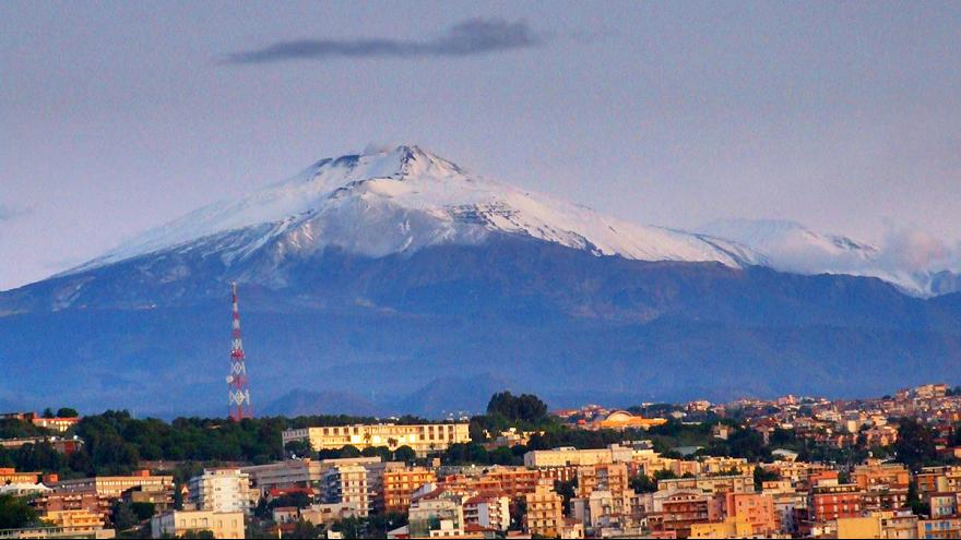 Cloudy in Sicily, with a chance of volcanic rockfall