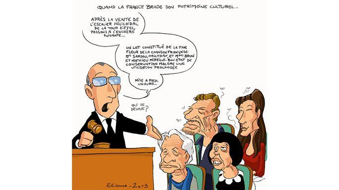 """Alerte ! La France disperse son patrimoine """"façon puzzle"""""""