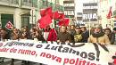 Thousands protest in Portugal against austerity budget for 2014