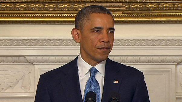 Obama csak dadogni tudott, úgy belefojtották a szót