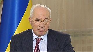 Ukrainian PM 'not surprised' by people's insistence on EU progress