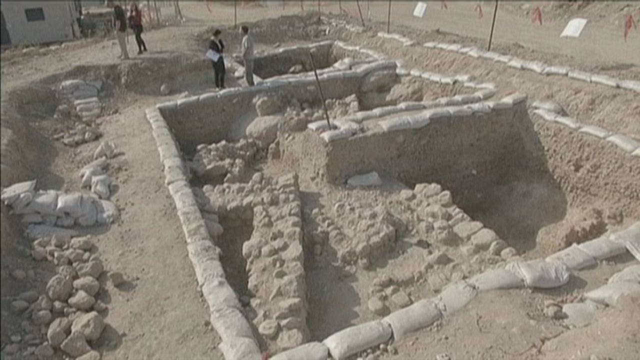 10.000 Jahre alte Siedlung bei Jerusalem freigelegt