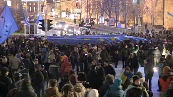 Ukraine: Yanukovich believes some are using protests for their own political ends.