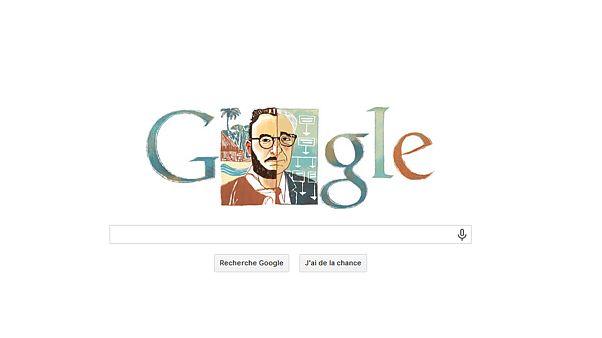 Le doodle de Google célèbre Claude Lévi-Strauss qui aurait eu 105 ans