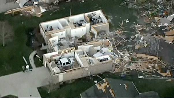 Shocking new footage shows devastation caused by Midwest tornadoes