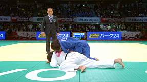 Two more golds for Japan on final day of Judo Grand Slam