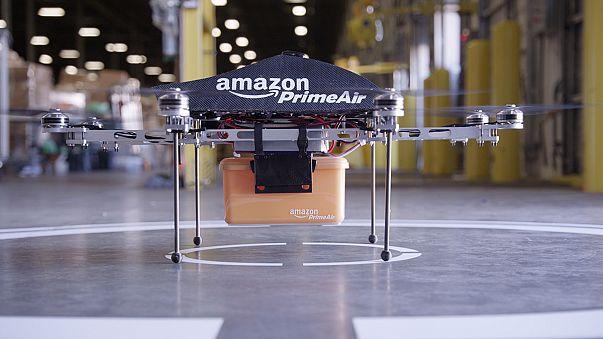 Amazon prépare un service de livraison par drones