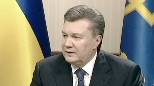 Yanukovych: 'bad peace better than good war' in Ukraine