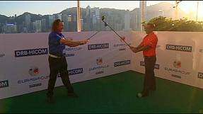 Spain's Miguel Angel Jimenez talks up new EurAsia golf tournament