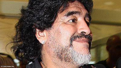 Les FARC veulent Maradona pour le « match pour la paix »