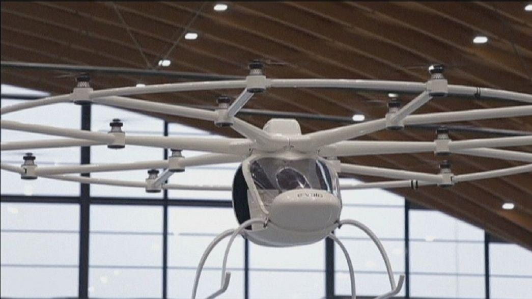 Drohne und Volocopter - Fluggeräte im Dienst der Menschheit